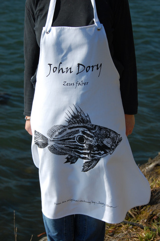 Cotton Apron - John Dory in 'My Designs'