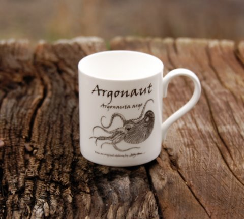 Bone China Argonaut Mug in 'My Designs'