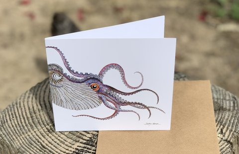 Argonaut Greetings Card