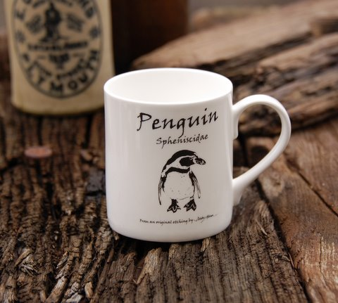 Bone China Penguin Mug in 'My Designs'
