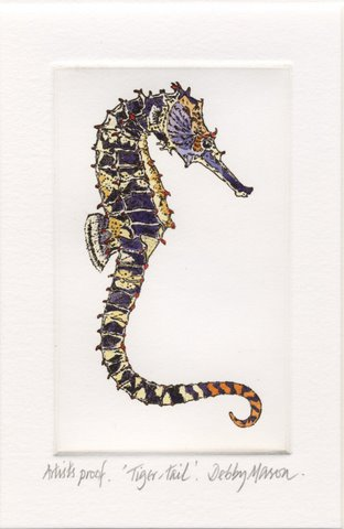 Tiger-tail Sea Horse (Hippocampus comes) in 'Sea Horses'